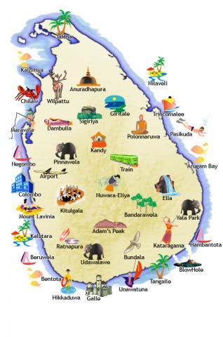Tour po Sri Lance