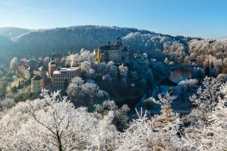 Krušnohorské vánoční slavnosti na hradě Loket