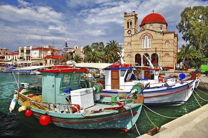 Athény s lodním výletem na Sáronské ostrovy