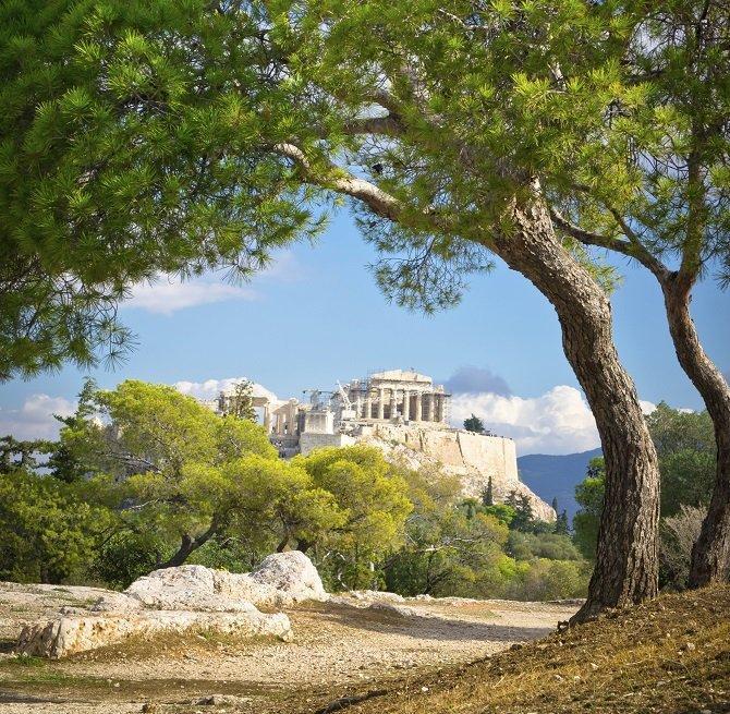 Letní víkend v Athénách