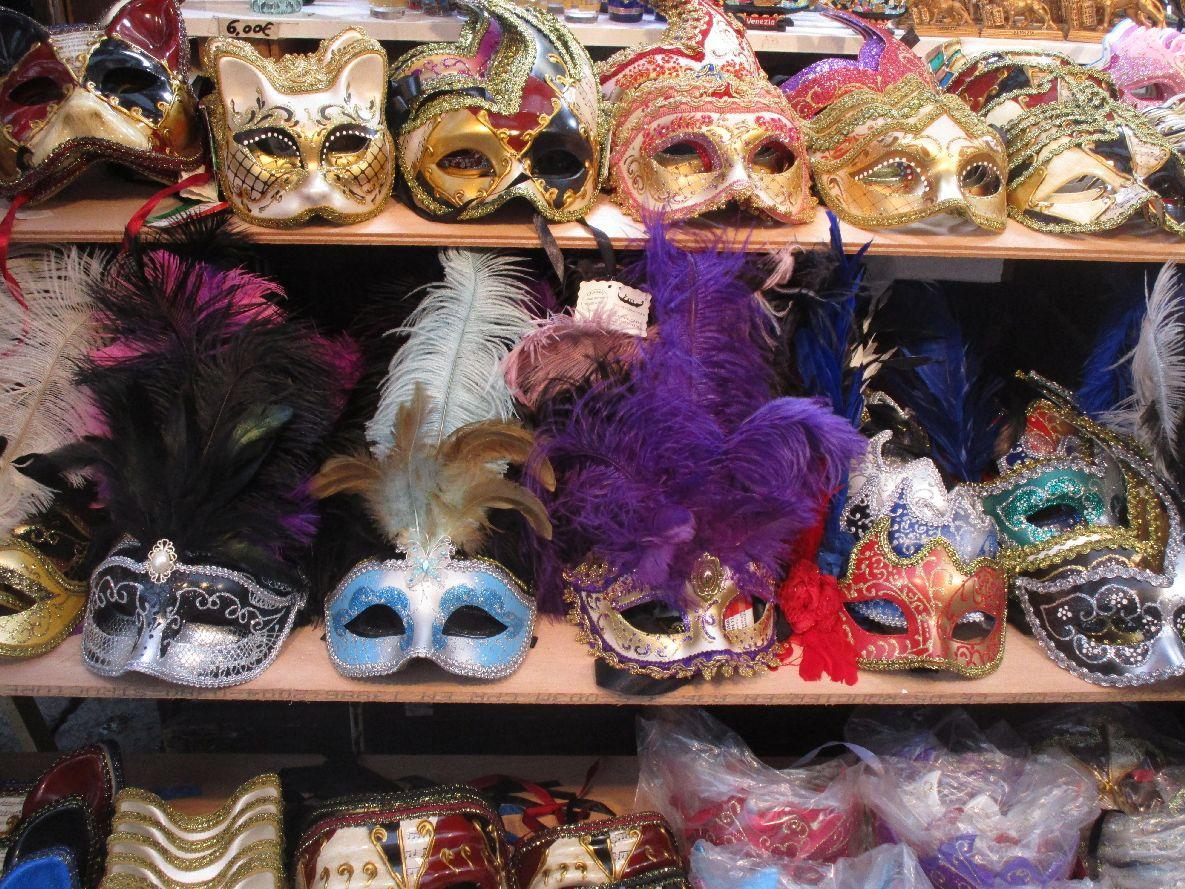 Benátky - karneval v Benátkách