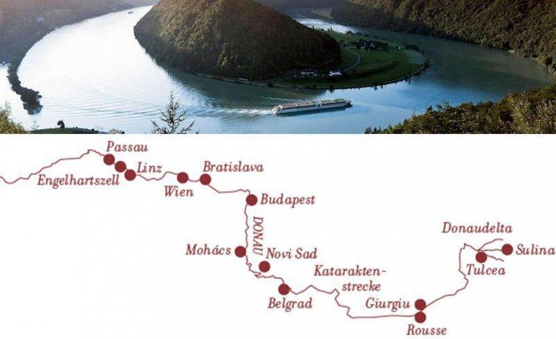 Adventní plavba po Dunaji