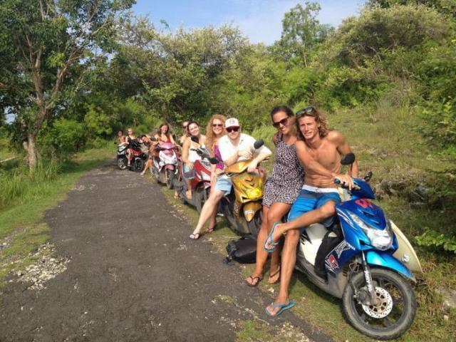 Na motorce po Jávě a Bali