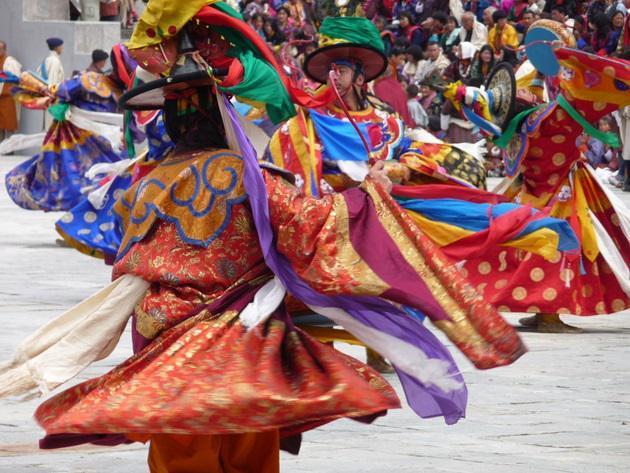 Země měřitelného štěstí - Bhútán