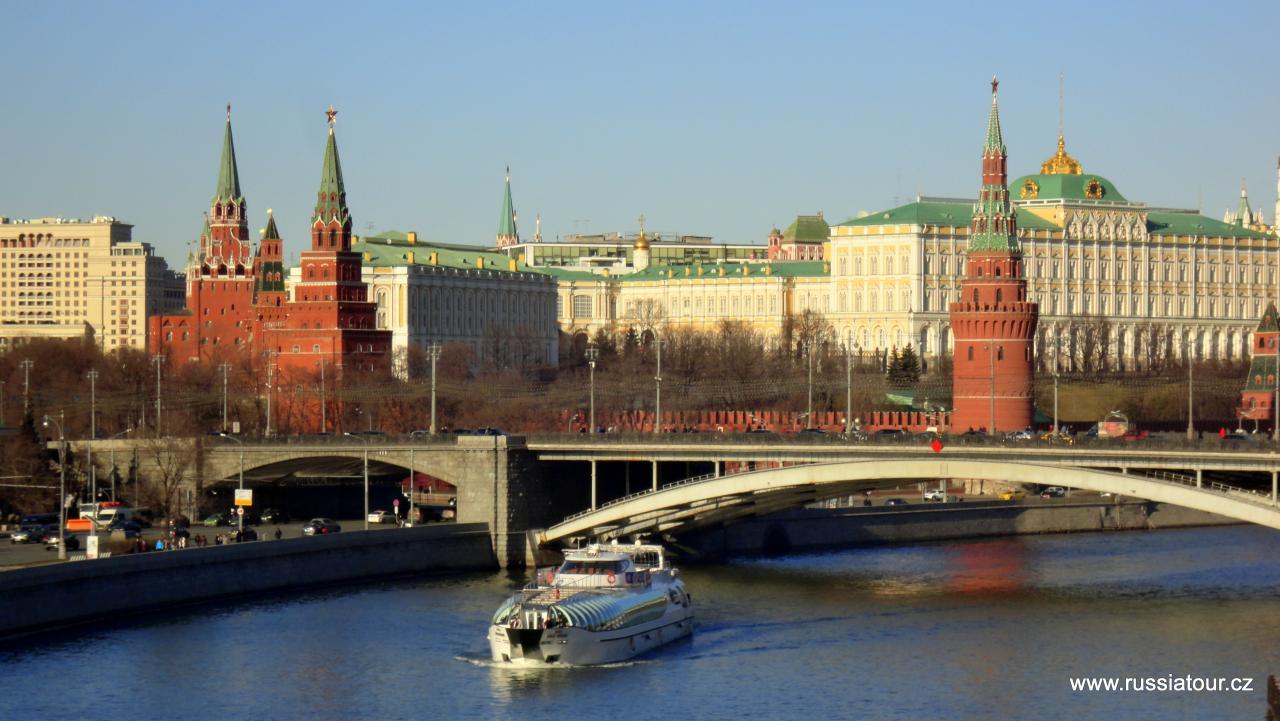 Moskva - hlavní město Ruska (středověké, sovětské i moderní)