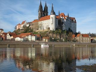 Plavba do Míšně a návštěva zámku Moritzburg