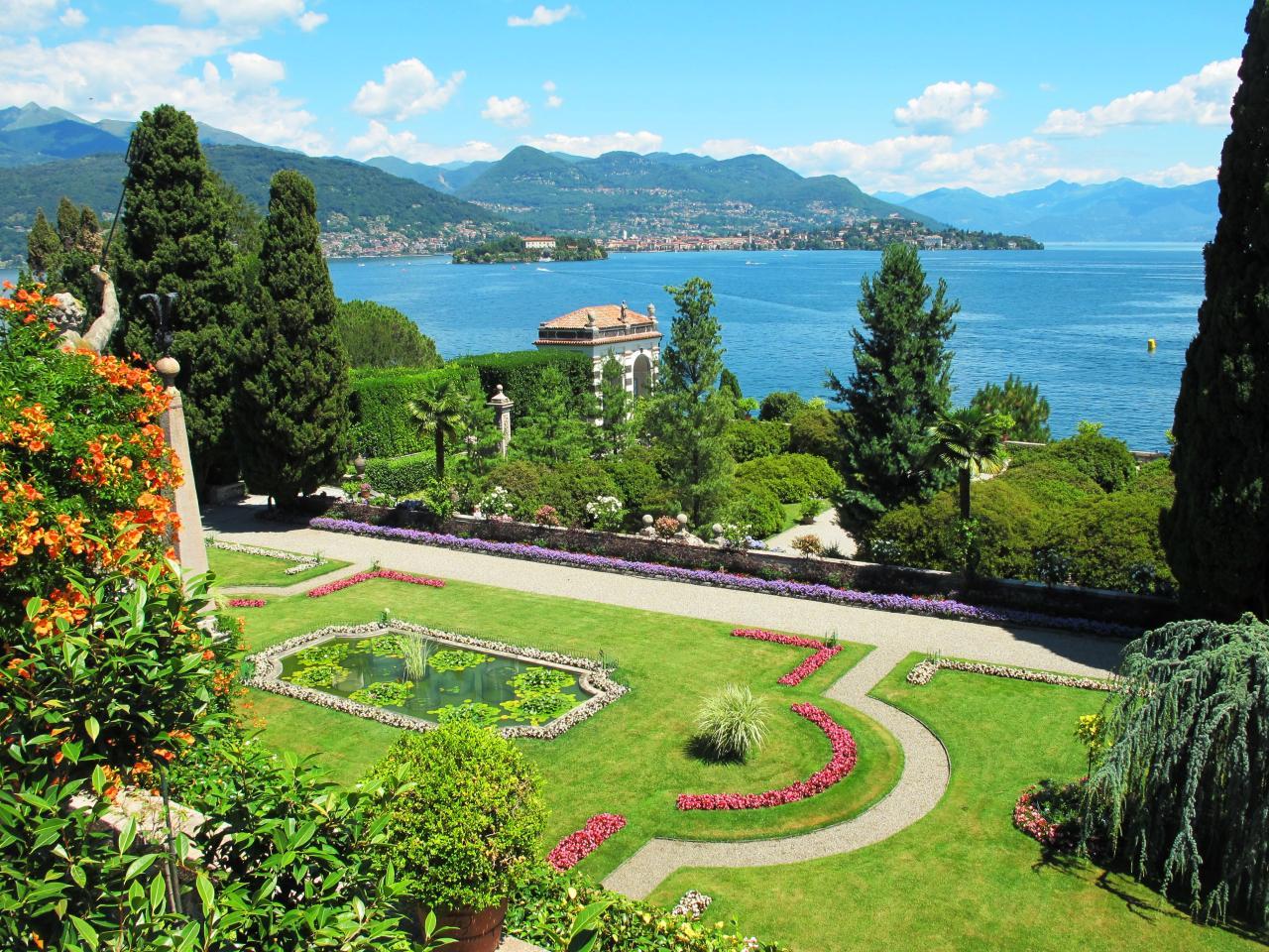 Bergamo, Milano, Lago Magiore, Lago Lugano vláček Bernina express