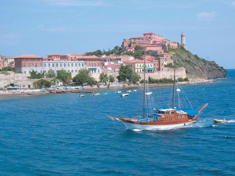 Romantický ostrov Elba Toskánsko