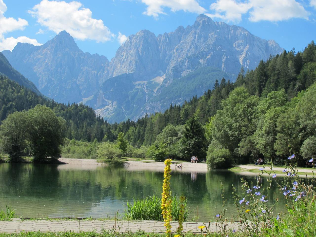 Alpy tří zemí - italské i slovinské Alpy  Korutany