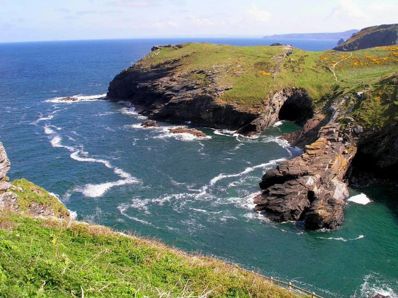 Jihozápadní Anglie, Cornwall a jižní Wales, krajem krále Artuše až na Land´s End