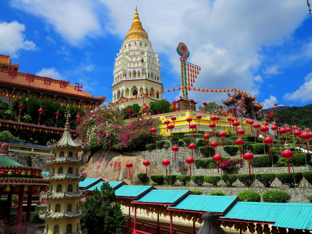 Přírodní krásy a památky Malajsie  Singapur