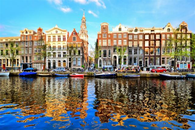 Amsterdam a Keukenhof – květinové korzo