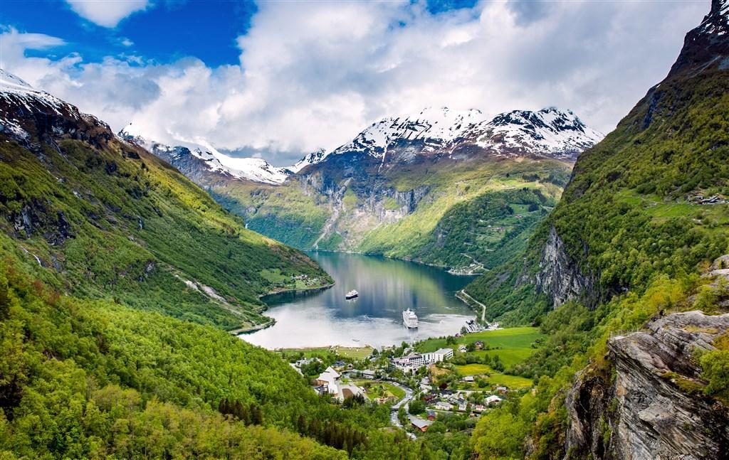Za norskou přírodou