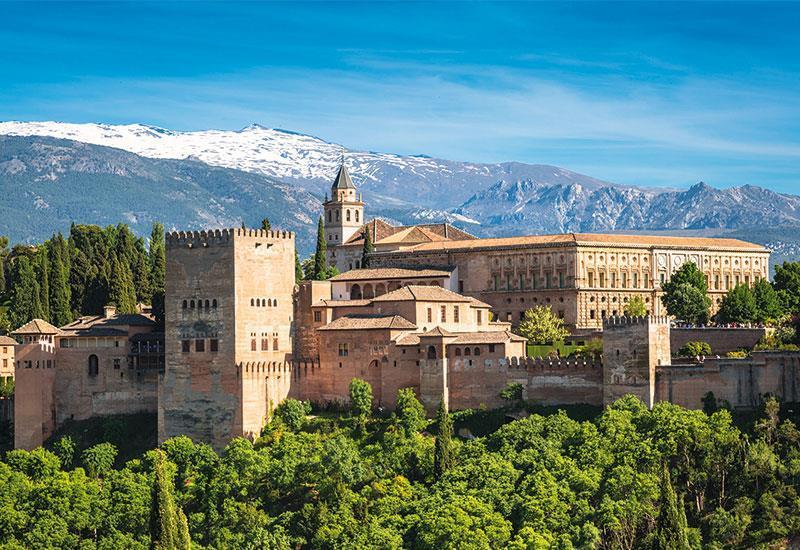 Španělsko Andalusie 2017