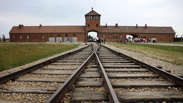 Koncentračního tábor Osvětim a Březinka