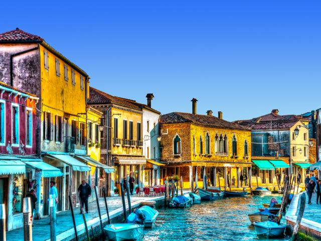 Benátky s návštěvou vyhlášených ostrovů Buráno a Muráno