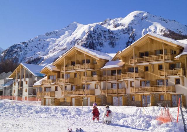 Výhodný ,desetidenní lyžařský zájezd do Francie - středisko Les Orres přímo na sjezdovce včetně skipasu