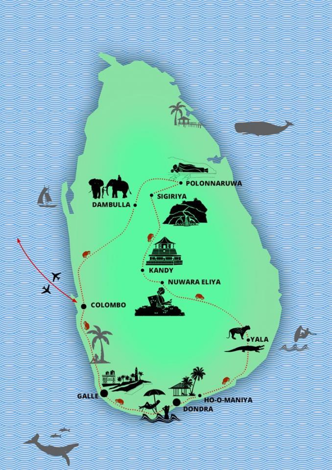 Na Srí Lanku nejen za slony