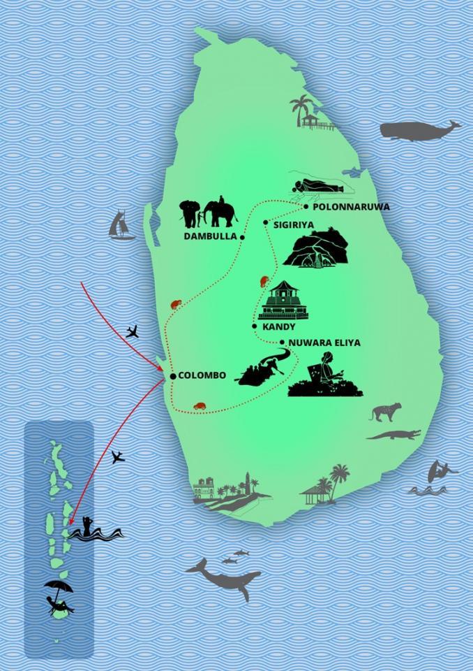 Vůně Srí Lanky a Malediv