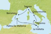 Costa Favolosa - Španělsko, Baleárské ostrovy, Malta, Itálie