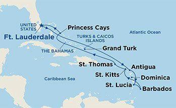 Royal Princess - Východní Karibik
