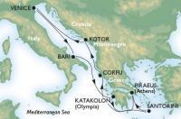 MSC Orchestra - Itálie, Řecko, Korfu, Černá Hora