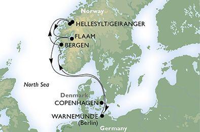 MSC Opera - Norské fjordy
