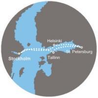 Costa Luminosa - Švédsko, Finsko, Rusko, Estonsko