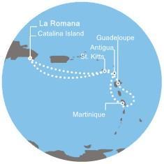 Costa Favolosa - Dominikán.rep., Antily