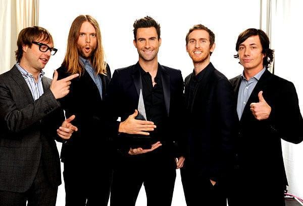 Maroon 5 koncert