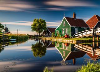 Nizozemsko, Holandská mozaika a světová výstava Floriade