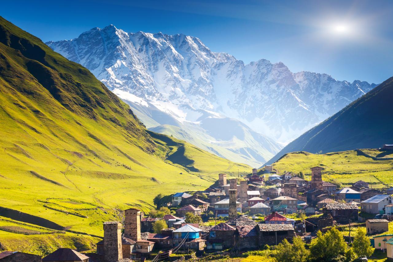 Pohodový týden - Gruzie - proslulá Svanetie obklopená Kavkazem