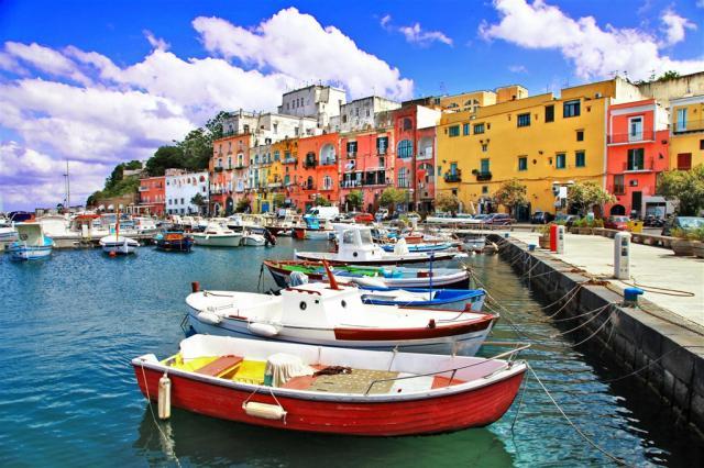 Itálie - Ischia - smaragdový ostrov