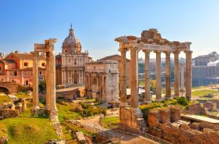 Itálie - Řím - město tisícileté historie - letecky