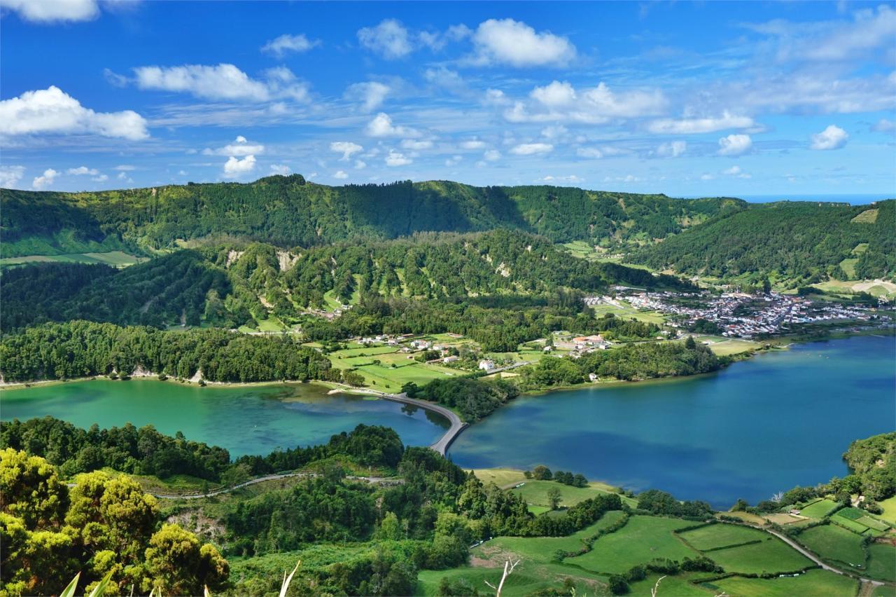 Pohodový týden - Azorské ostrovy - zelený maják Atlantiku Sao Miguel