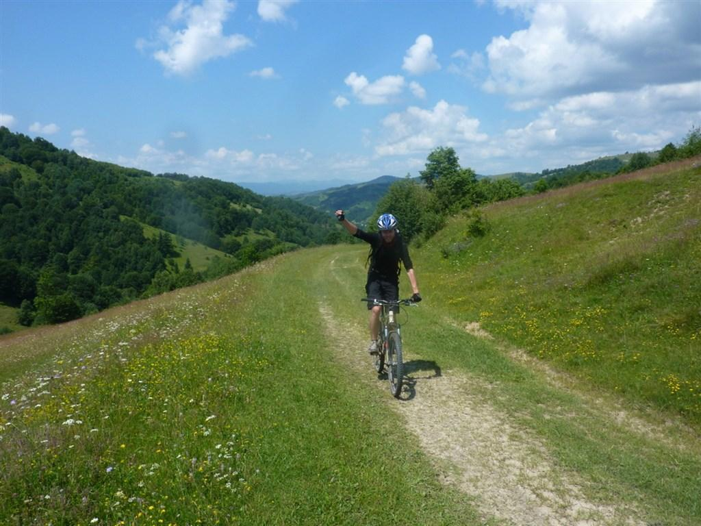 Ukrajina - Podkarpatská Rus na kole po cestách i necestách