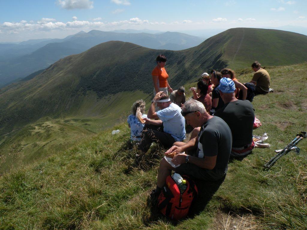 Ukrajina - Putování po karpatských poloninách