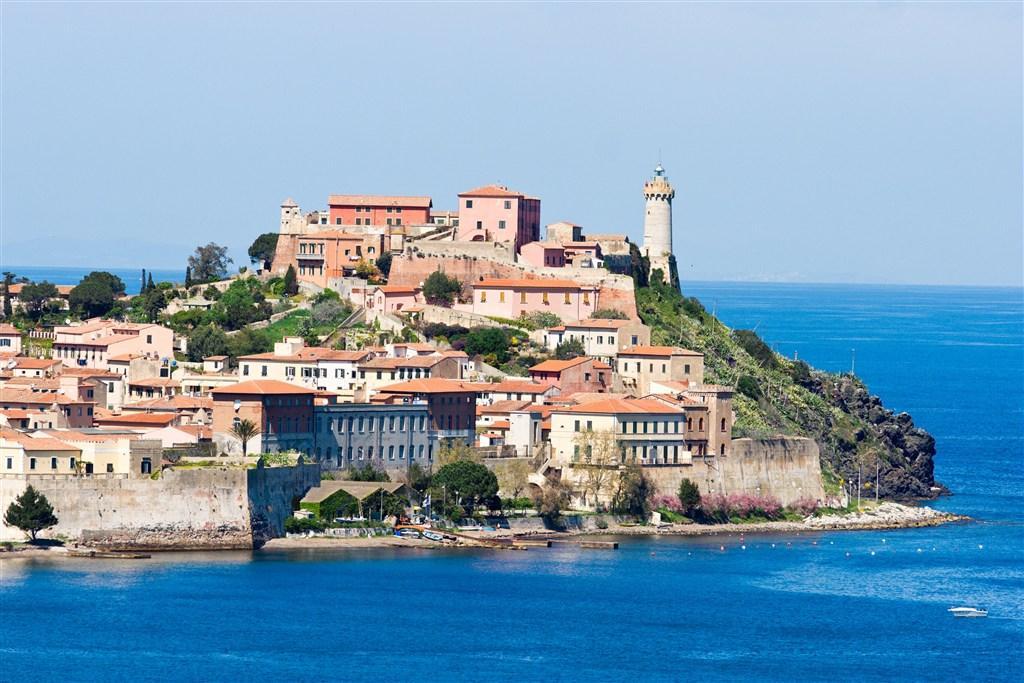 Itálie - Romantický ostrov Elba  Toskánsko