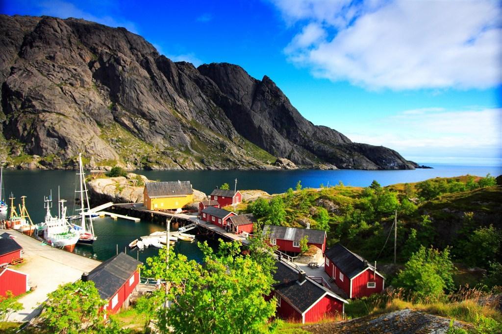Norsko, cesta na daleký sever, Lofoty