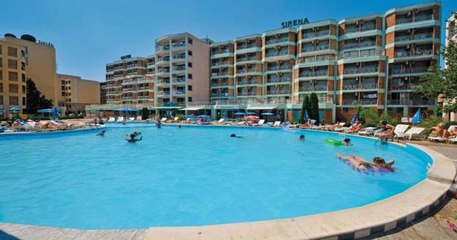 Hotelový komplex Sirena a Delfin
