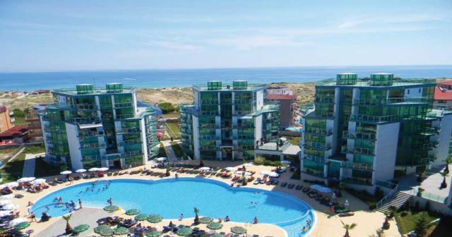 Grand hotel Primorsko (hotelové pokoje)