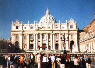 Jedeme pro dárky do Říma a Vatikánu