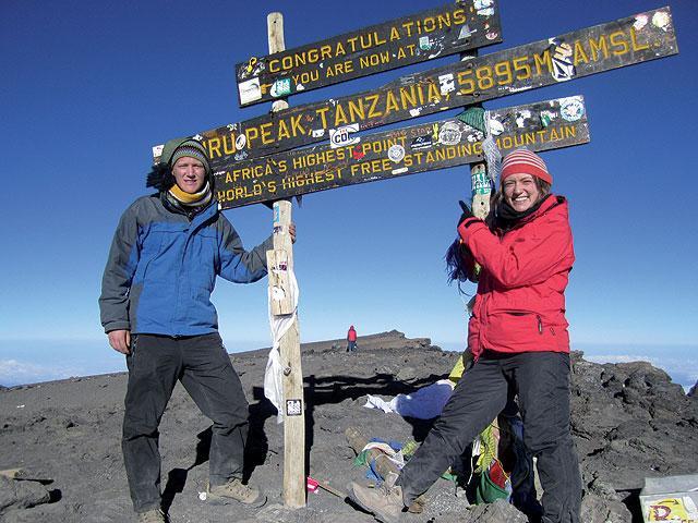 Kilimandžáro cestou Machame