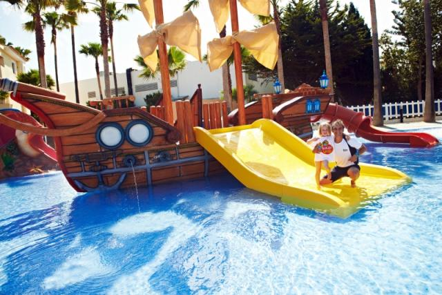 Funtazie & Active klub Blau Mediterraneo Club dovolená s aquaparkem