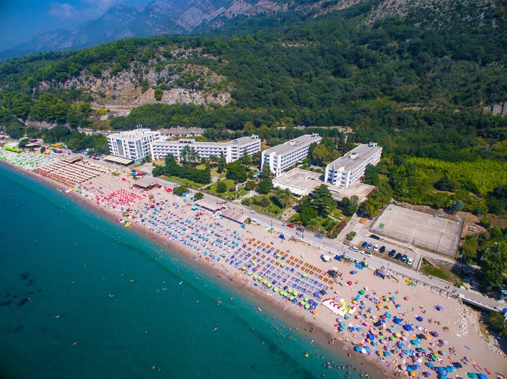 hotel Korali all inclusive Černá Hora
