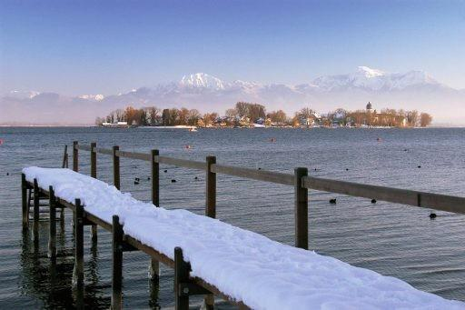 Advent v Mnichově, u bavorského moře Chiemsee a v Salzburgu