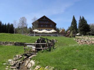 NP Bavorský les - výstup na Luzný přes Sedmiskalí