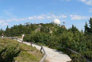 Bavorský les - Velký a Malý Javor - hřebenová trasa