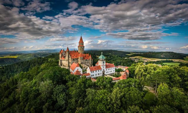 Haná - Olomouc, tvarůžky v Lošticích, Bouzov, Javoříčko