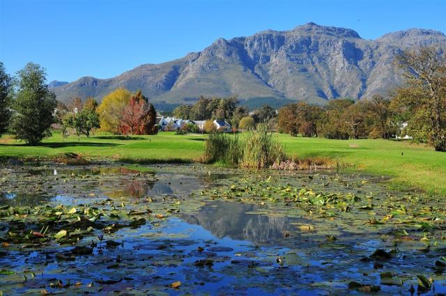 Jar - golf v Kapském městě